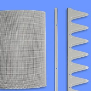 corrugated 2m steel mesh
